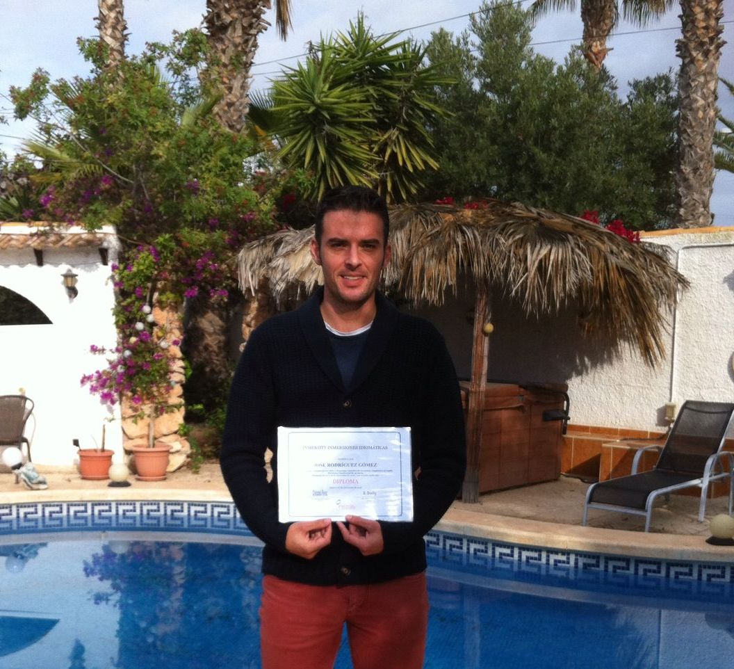 Cursos de inmersión en inglés - Cursos de inmersión lingüistica en inglés de Jose Rodríguez - Moratalla