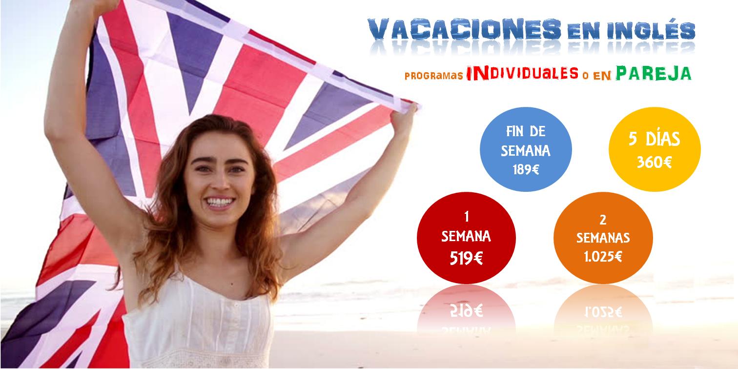 Cursos de inmersión en inglés - Cursos de inmersión lingüistica en inglés - Inglés Vacacional