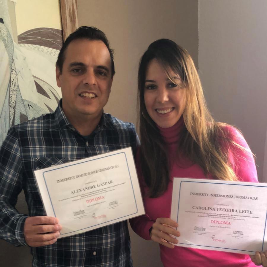 Cursos de inmersión en inglés - Cursos de inmersión lingüistica en inglés de Carolina Teixeira - Madrid