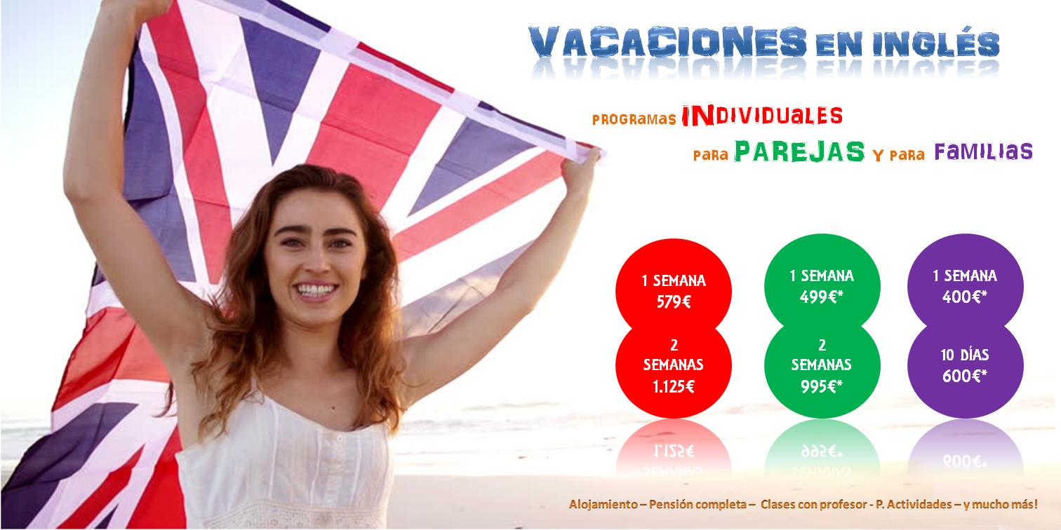 Cursos de inmersión en inglés - Cursos de inmersión lingüistica en inglés - Vacaciones en inglés