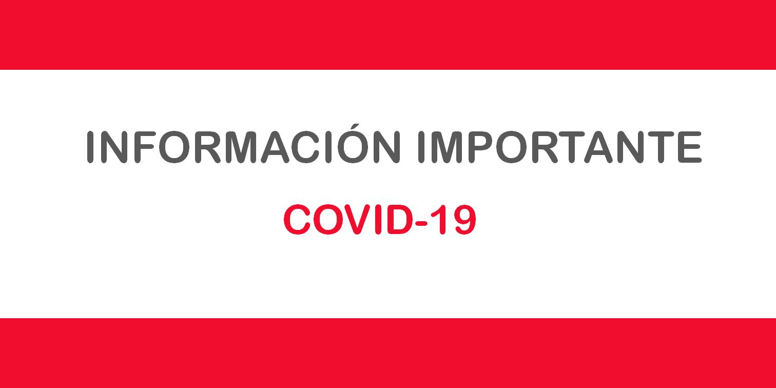 Cursos de inmersión en inglés - Cursos de inmersión lingüistica en inglés - Información Importante Covid-19